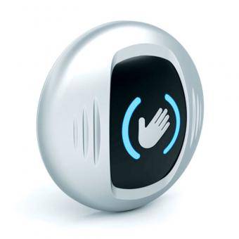 Hand Wave Sensor Button